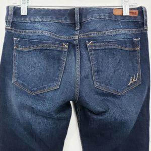 Express Jeans - Express Skinny Stella Low Rise Dark Wash Jeans